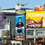 Pepsi signage