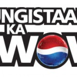 "Pepsi ""Youngistaan Ka Wow"" logo unit"