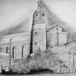 Still life sketch for college publication