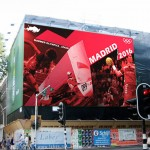 Madrid poster- bottom left of 3-in-1 poster on billboard