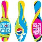 Pepsi Special Edition bowling pins