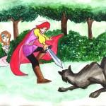 Fairytale book/Movie frame